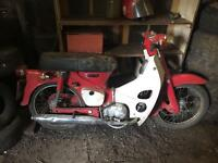 BARN find Honda c90 only 2800 miles £700