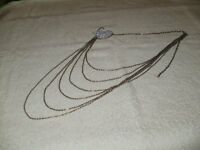 NECKLACE WITH SILVER HEART.