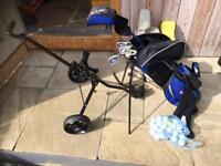 Junior set RAM golf clubs