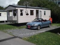 Holiday Caravan to let Mullion Cornwall from £150