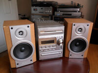 Kenwood RXD-M55 Hifi System 1Bit DAC CD Player - Tape deck and Tuner - Sony Speakers
