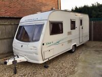 Avondale dart 2005 five birth caravan 2 awnings all accessories are included in the sale