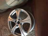 "BRAND NEW Alloy wheels 17"" inch Peugeot 1007 106 2008 205 206 207 208 3008 306 307 308 alloys wheel"