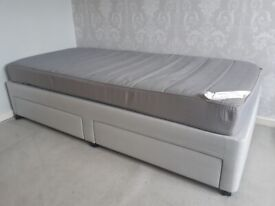 Ikea Sultan Allek Divan single bed base and matress