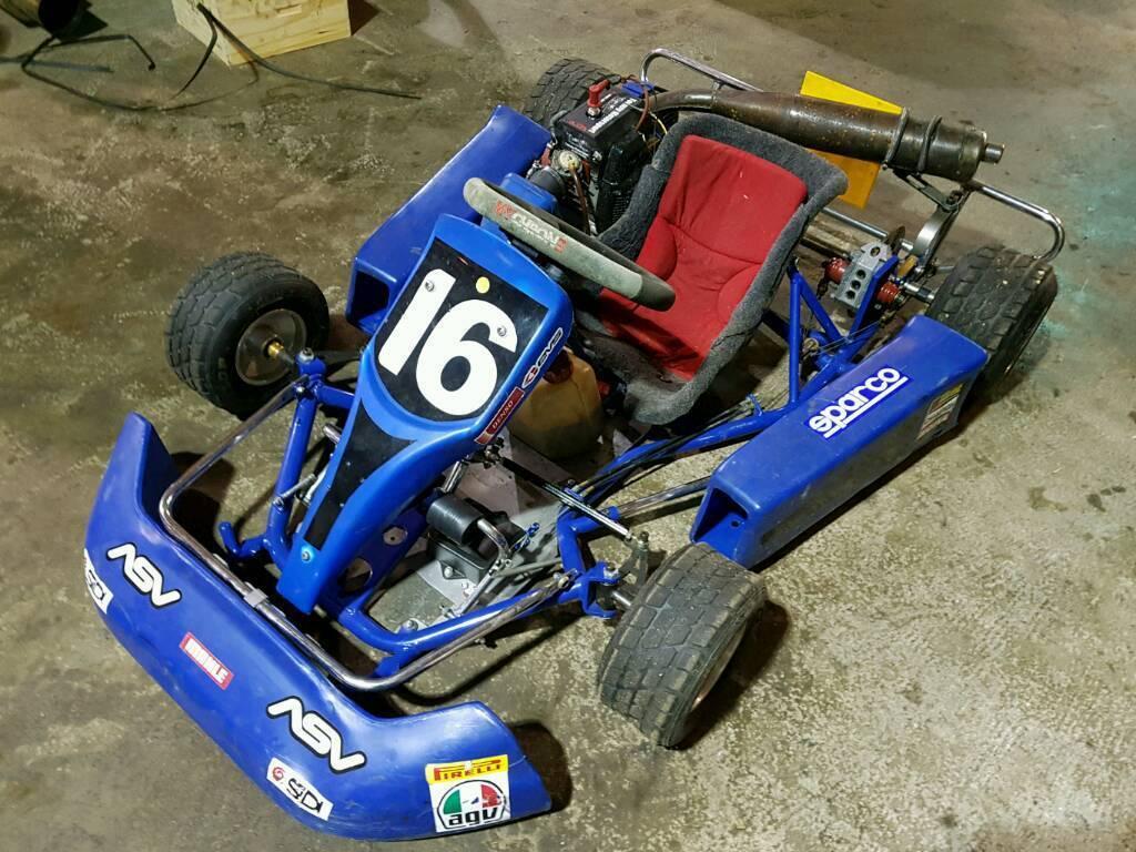 Kids go kart zip kart 60cc .racing kart like buggy quad   in Paisley ...