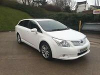 **TOYOTA AVENSIS TR D-4D 2.0 DIESEL 5 DOOR ESTATE WHITE (2010 YEAR)**