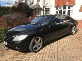 Mercedes Benz CL500 Top of the range 'Super Coupe'