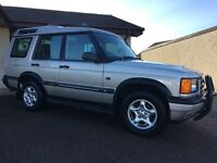 Land Rover Discovery TD5 ES 7 Seat Manual Full Leather 4X4 Cruise Control with Tow Bar and Bike Rack
