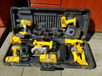 DEWALT CORDLESS 18V POWER TOOLS SETS