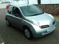2005 05 NISSAN MICRA 1.2 3DR ** ONLY 49000 MILES ** 12 MONTH MOT **