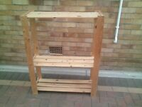 wooden shelved unit, bookcase, can deliver if needed