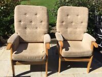 Comfortable arm chairs ( pair)