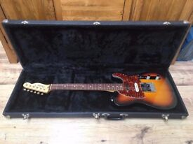 Fender Deluxe Nashville Tele/Telecaster MIM (Made in Mexico/Mexican) Electric Guitar + Hardcase
