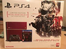 PS4 Limited Edition Metal Gear Solid Console