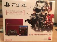 Now SOLD PS4 Limited Edition Metal Gear Solid Console