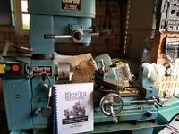 Metalworker lathe and drill
