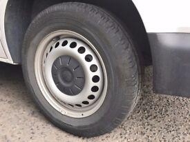 VW Transporter Wheels.