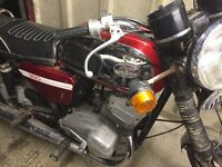 Jawa 350 barn find for spares or repair