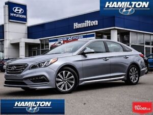 2016 Hyundai Sonata | SPORT TECH | LEATHER | ROOF | NAVI | BACK