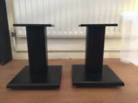 Studio monitors small stands (x2) with floor spikes / or for hifi speakers