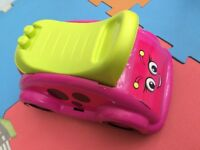 Children's Pink & Green Mega Bloks LadyBird Whirl N Twirl Whirlee Ride-on Toy