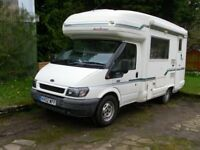 Auto Sleeper Pollensa, 02, 47K, FSH, One Owner