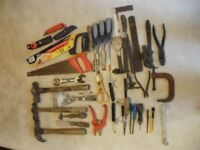 Variety of Second-Hand Tools