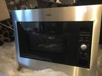 AEG brand new never used Integrated Microwave