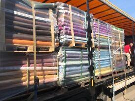 crystal organza job lot clearance london fabric/material/clothing/cloth/