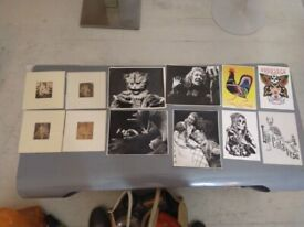 Various small art prints and vintage nude photography central London bargain