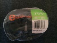 halfords essentials bike inner tube new