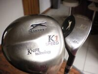 slazenger driver and iron/wood
