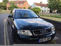 Audi A6 Avant 1.8t Petrol manual px/swap...