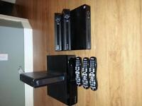 SHAW ARRIS DVR BOXES AND REMOTES NEW