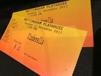 2 Tickets - Cinderella Panto in Nottingham on 31st December 2017