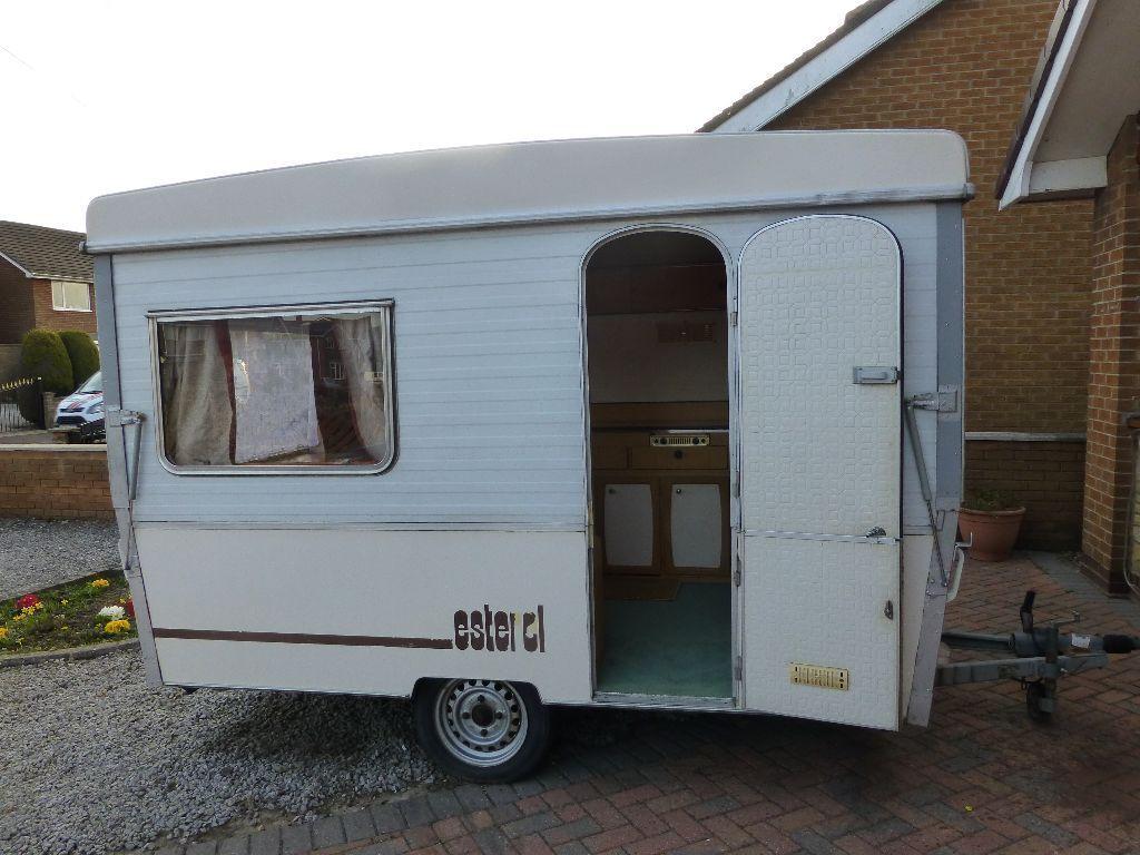 Esterel Folding Caravan C31 3 Berth 1980 S In Hedon