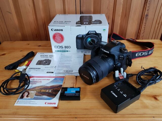 UK Canon EOS 80D Digital SLR Camera 18 - 135 Zoom USM Lens Boxed As NEW |  in Staines-upon-Thames, Surrey | Gumtree