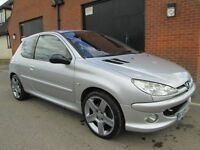 2005 PEUGEOT 206 GTI 180 SPECIAL EDITION Part exchange available / Credit & Debit cards accepted