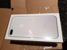 iPhone 7 plus 256gb unlocked mint cond.