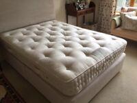 Vi & Spring Mattress. Luxury Divan. Double Bed.