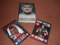 Ricky Hatton War and Peace: My Story with 2 DVDS A Life Story and From Manchester to Vegas