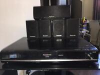 Panasonic Surround Sound System with Blu-ray player