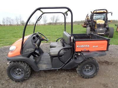 2018 Kubota RTV500 Utility Vehicle, 4WD, Power Steering, EFI Gas, Only 226 HOURS