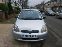 Toyota Yaris HPI clear LOW mileage