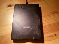 External Toshiba USB floppy drive
