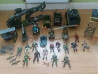 Lots of army toys