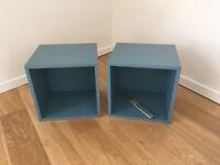 2 x Ikea Eket storage cubes