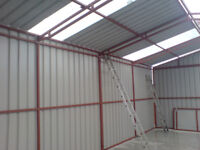 Steel Shed 5.5m x 7.1m
