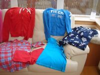 Hollister and Abercrombie & Fitch clothes bundle - 9 items