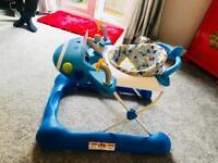 Mothercare aeroplane baby walker